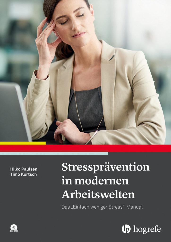 Cover Buch Stressprävention in modernen Arbeitswelten